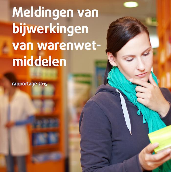 Meldingen van bijwerkingen van warenwetmiddelen 2015