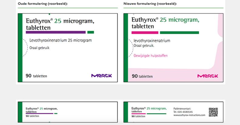 Euthyrox 25 microgram