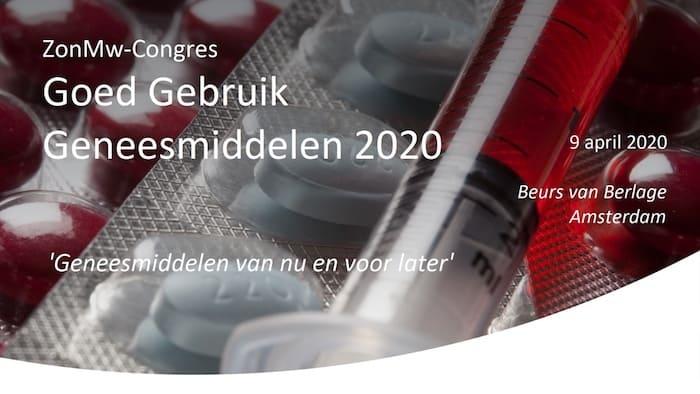 ZonMw-congres Goed Gebruik Geneesmiddelen 2020