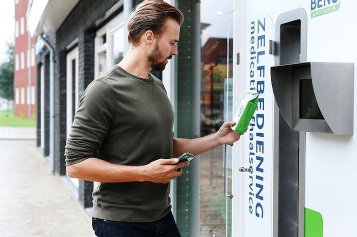 BENU Apotheek afhaalautomaat